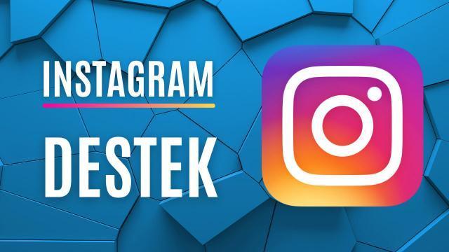 Instagram Destek