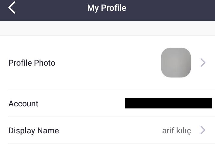 Zoom Profil Ayarları