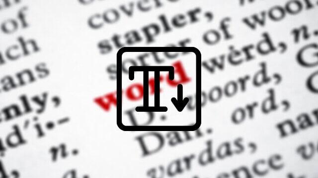 Büyük Harflerle Yazılan Yazıyı Küçük Harfe Çevirme Nasıl Yapılır