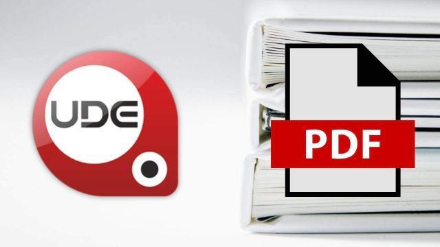 UDF Uzantılı Dosyayı PDF Çevirme