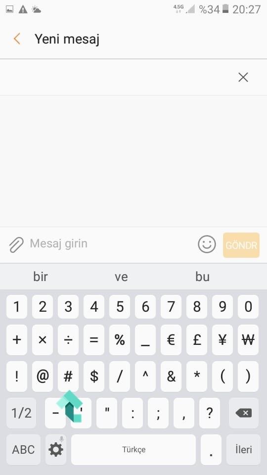 """""""#"""" Sembolü"""