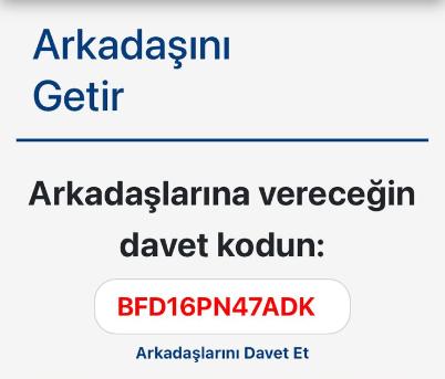 Türk Net Referans Kodu