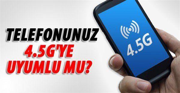 4.5G Uyumlu Telefonlar Hangileri2