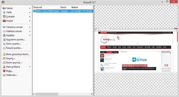 Ekran Görüntüsü Alma Programlar 3
