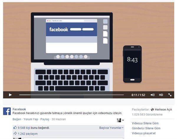 Facebook Video İndirme Nasıl Yapılır 1