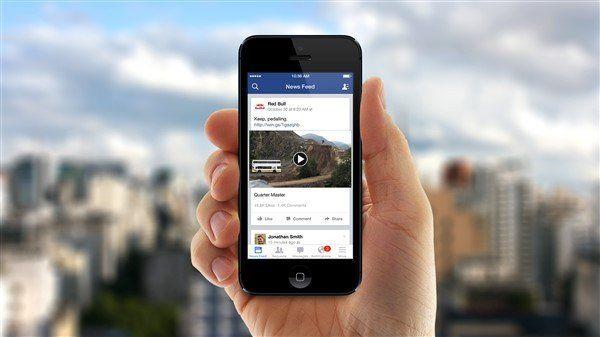 Facebook'ta Yeni Video Sekmesi