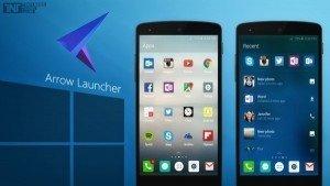 Microsoft' tan Arrow Launcher Uygulaması Geldi