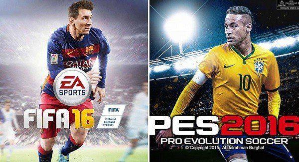 PES 2016 ve FIFA 16 Karşılaştırması