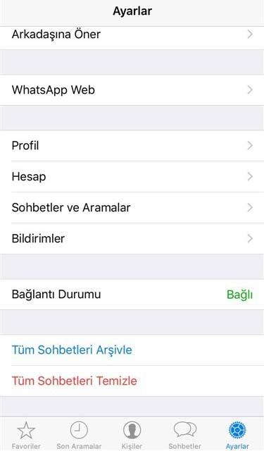 WhatsApp'ta Mesajlar Nasıl Geri Yüklenir 1