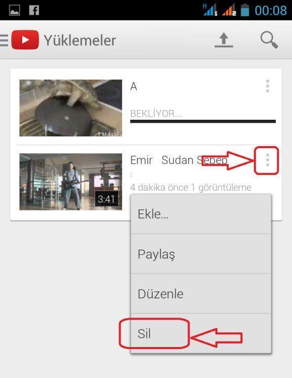Youtube Video Silme Nasıl Yapılır 1