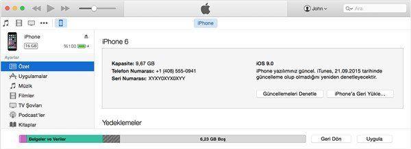 iPhone Güncelleme Nasıl Yapılır 3