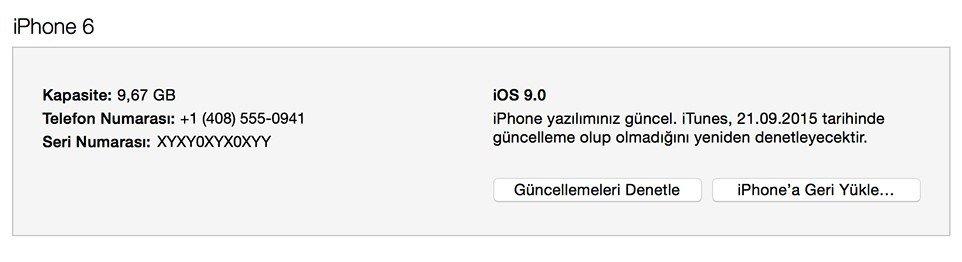 iPhone Güncelleme Nasıl Yapılır 6