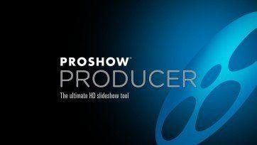 Slayt Programı; ProShow Producer